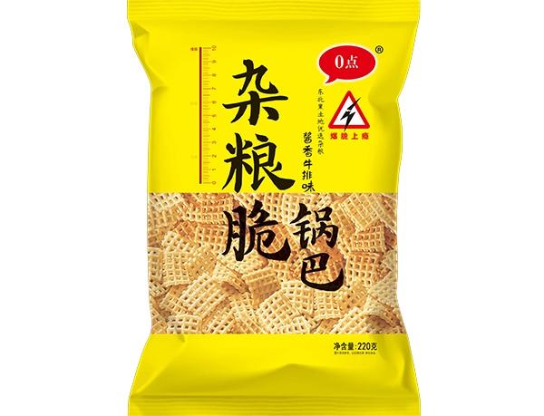 220g杂粮脆锅巴-酱香牛排味