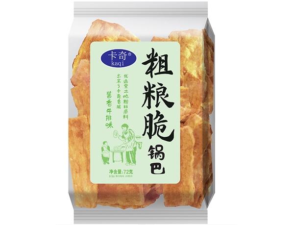 72g粗粮脆锅巴-酱香牛排味