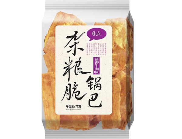 72g杂粮脆锅巴-酱香牛肉味
